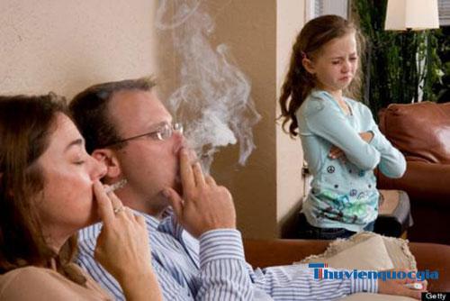Những tác hại của thuốc lá đối với trẻ nhỏ