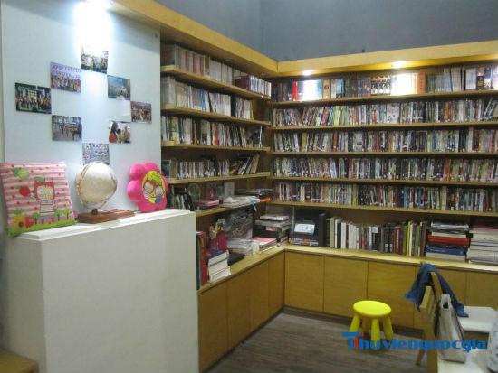 Trung tâm văn hóa Hàn Quốc - Thư viện Hà Nội