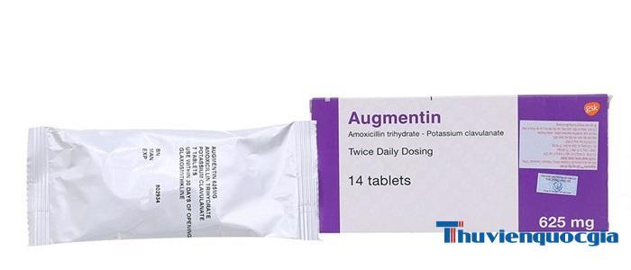 Thuốc Augmentin 625
