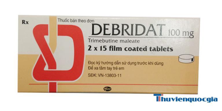 Thuốc debridat chữa bệnh gì?