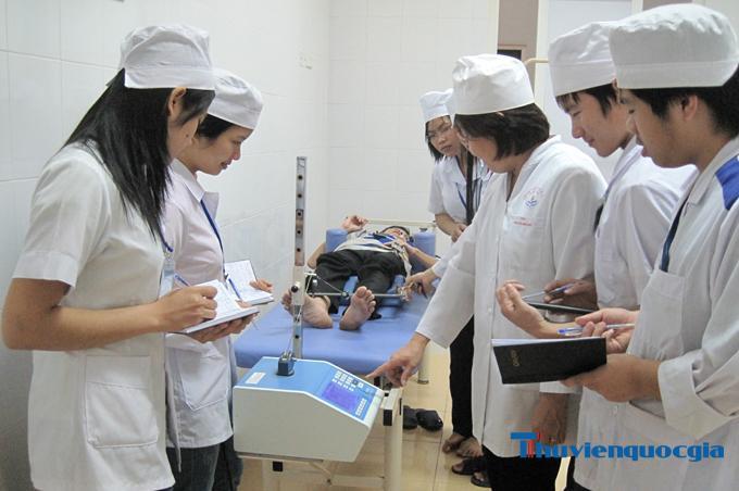Sinh viên ngành Điều dưỡng có nhiều lựa chọn nghề nghiệp