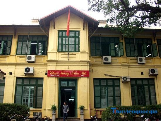 Thư viện Khoa học và Kỹ thuật Trung ương - Thư viện Hà Nội