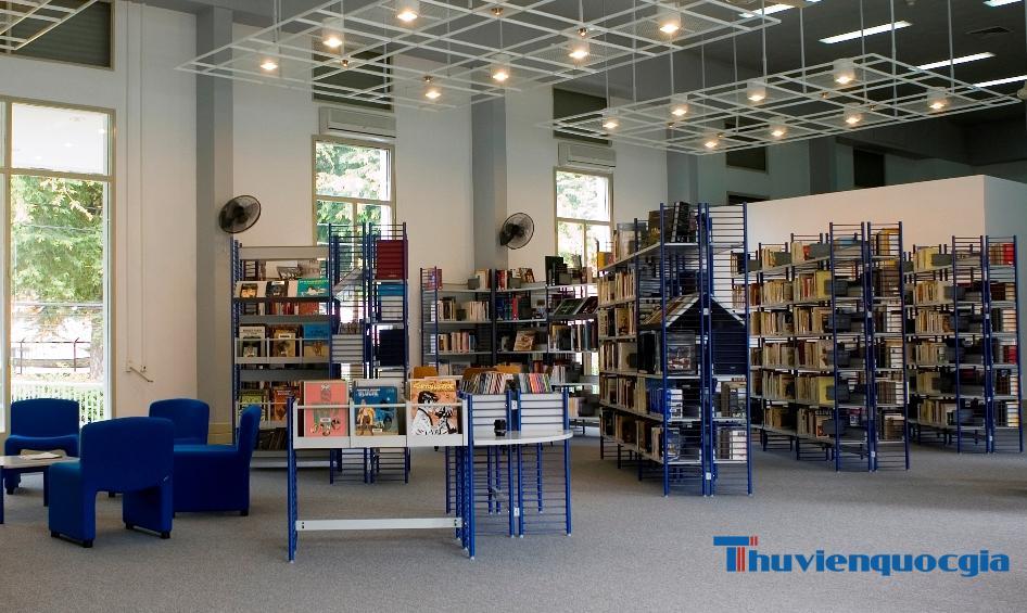 Thư viện thành phố Hồ Chí Minh - Thư viện Idecaf – Viện trao đổi văn hóa Pháp Idecaf