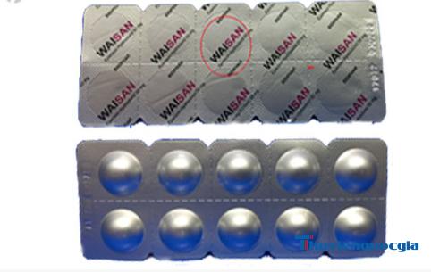 Thuốc Waisan 50mg có công dụng gì