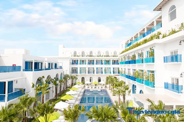 Khách sạn tiêu chuẩn 5 sao cần phải có sân, vườn rộng